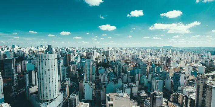 brazil sao paulo skyline