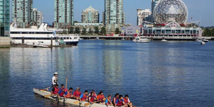 vvancouver downtown rowing