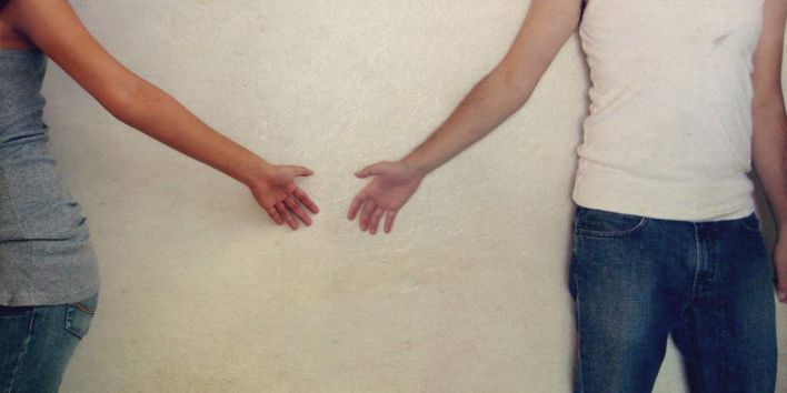 divorce seperate couple letting go past