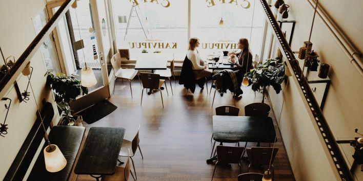 coffee shop conversation talk