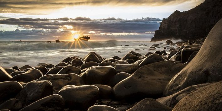 New Zealand sunrise