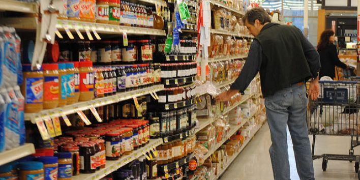 supermarket man shop