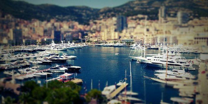 monaco-yacht boat harbor rich