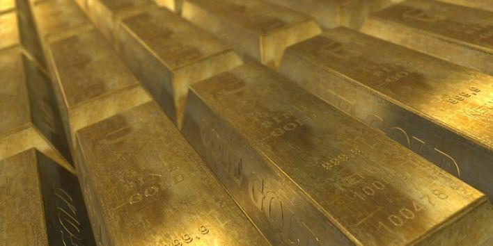 gold wealth rich metal