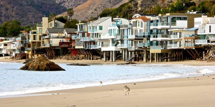 malibu beach house california rich wealth