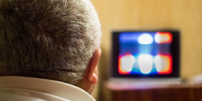 man television screen TV