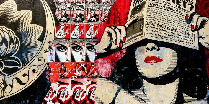 graffitti propaganda news
