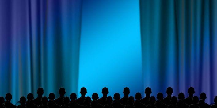 theater movie people audience