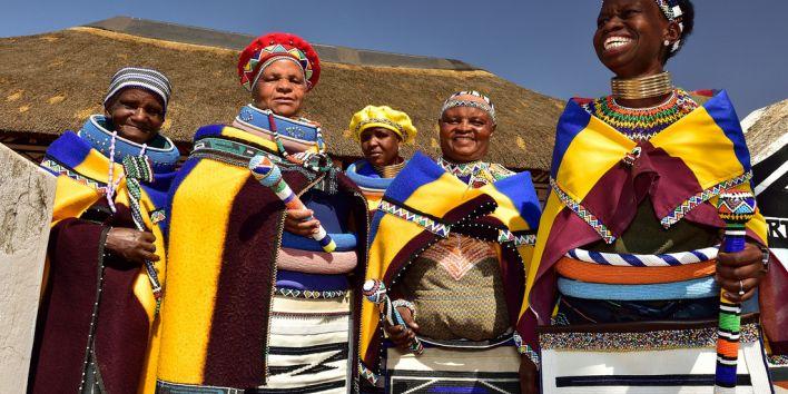 south africa black woman women