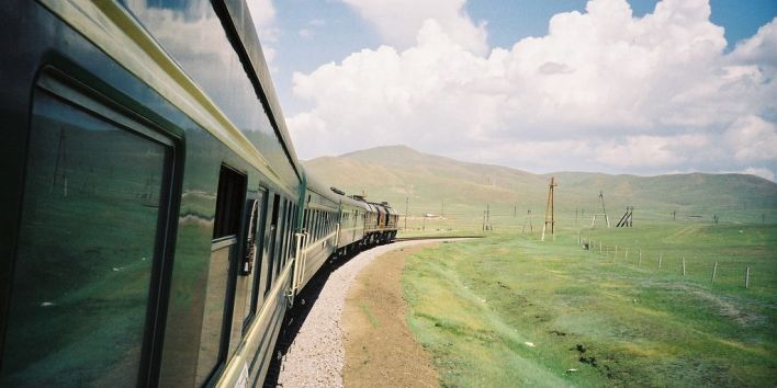 Trans Siberian Express train nature travel