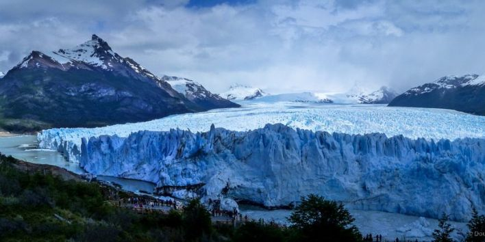 ice wall cold nature patagonia