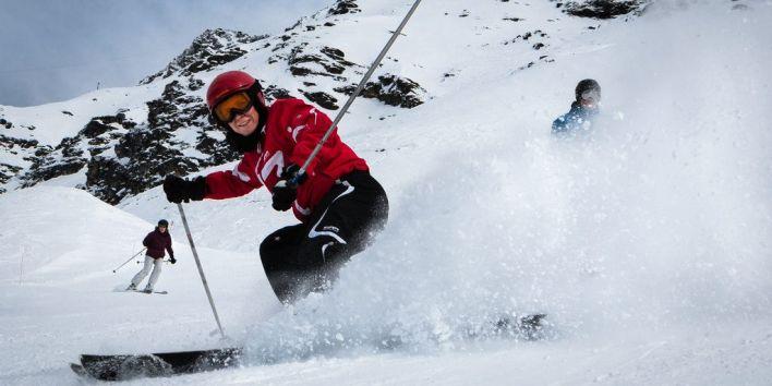 ski sport mountain snow