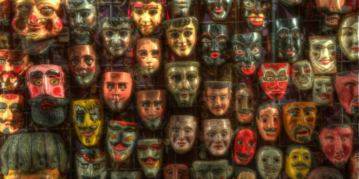collection hobby masks orient