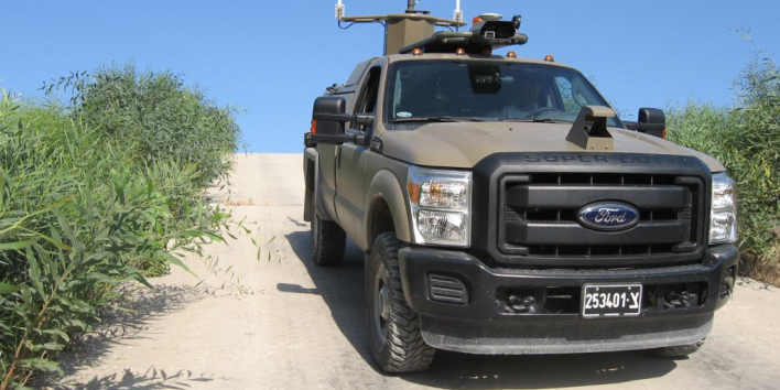 ISF unmanned vehicle