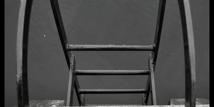 end stair climb step