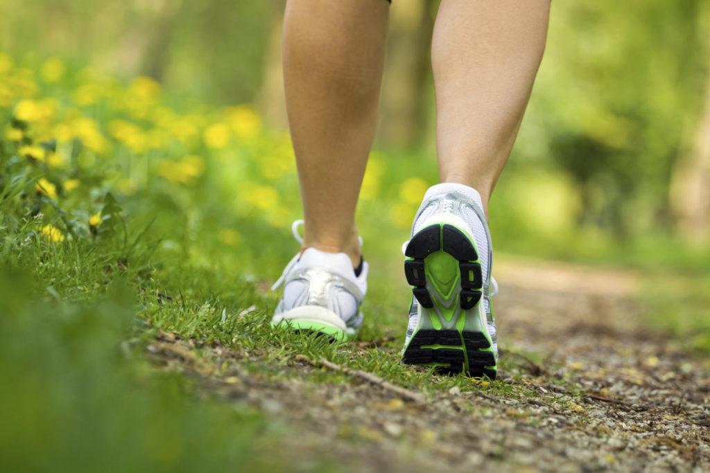 Geregeld wandelen zorgt voor minder stress