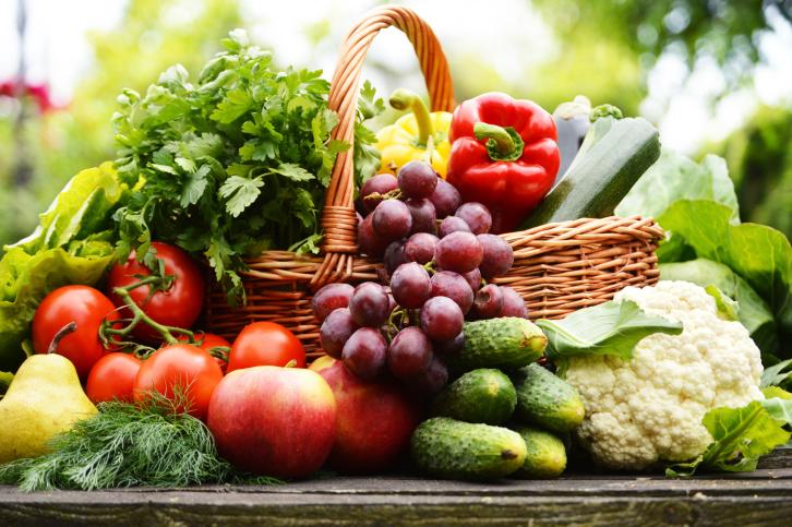 Gezond eten met biologische voeding