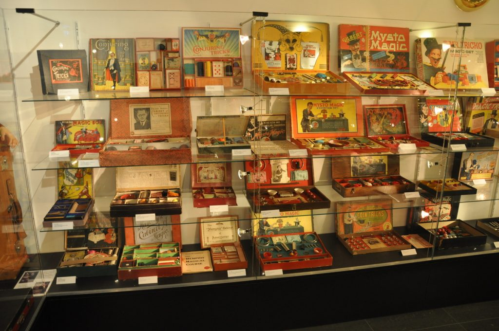 Zauberkasten Museum Wenen - Goocheldozen