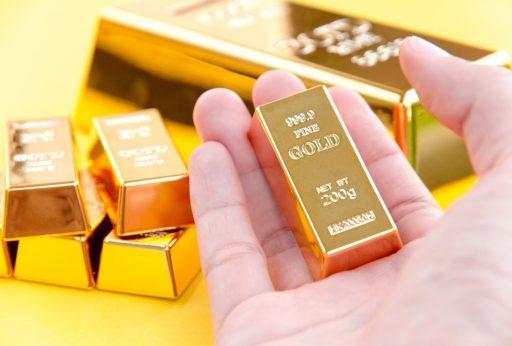 Le prix de l'or chute brusquement à son niveau le plus bas depuis quatre mois