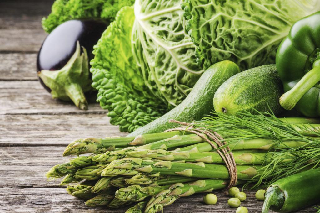Groene groenten zijn echte vitaminebommen