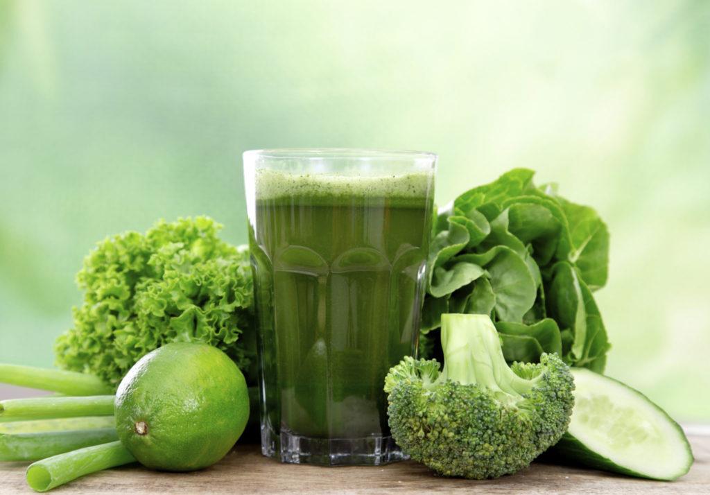 Groene smoothies ontgiften het lichaam!
