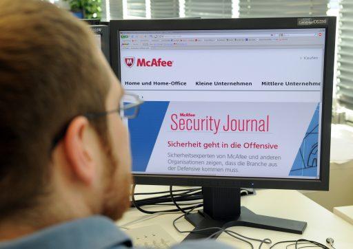 McAfee gaat 7 procent onderuit op eerste beursdag