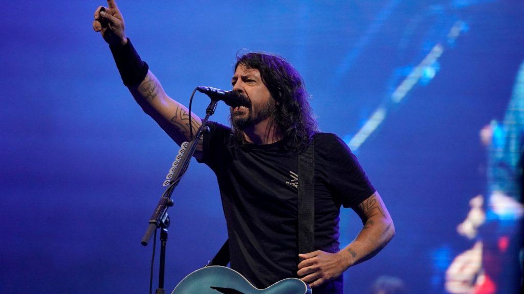 Foo Fighters benefietconcert Joe Biden