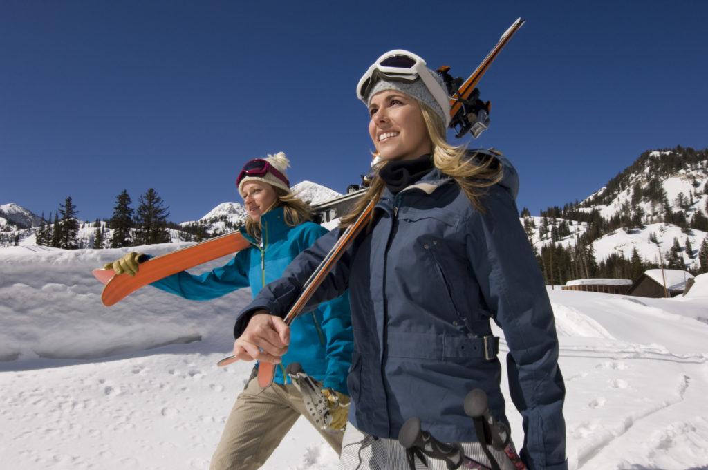 Hoe je huid goed verzorgen op skivakantie?