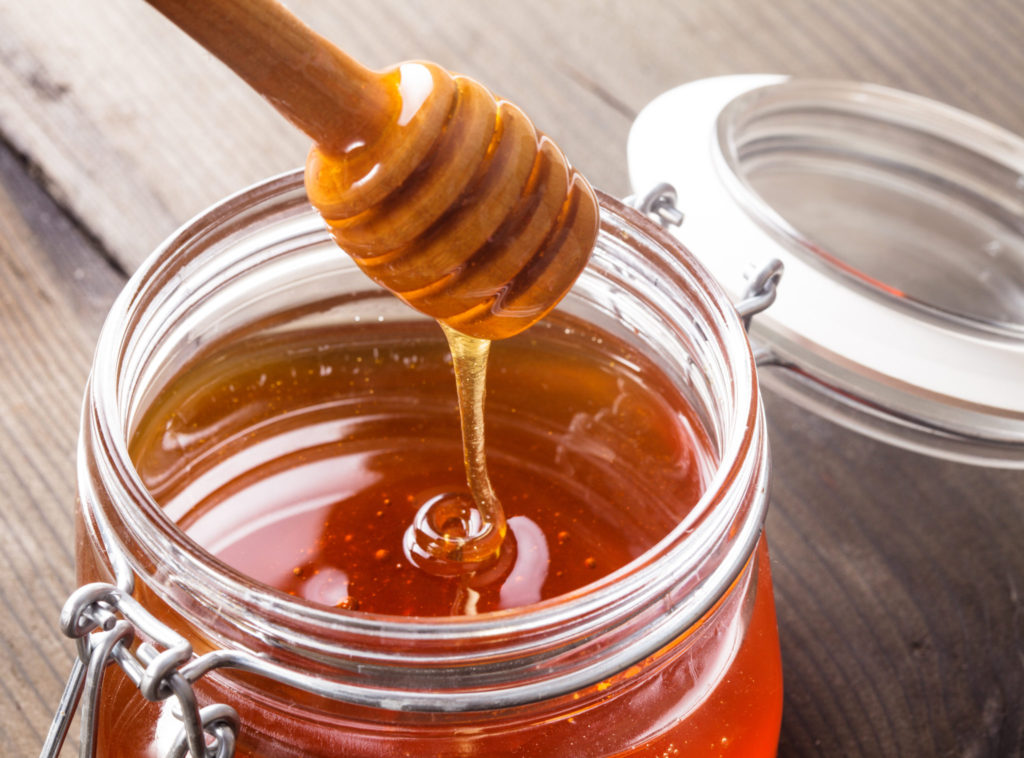 Honing als hoestsiroop