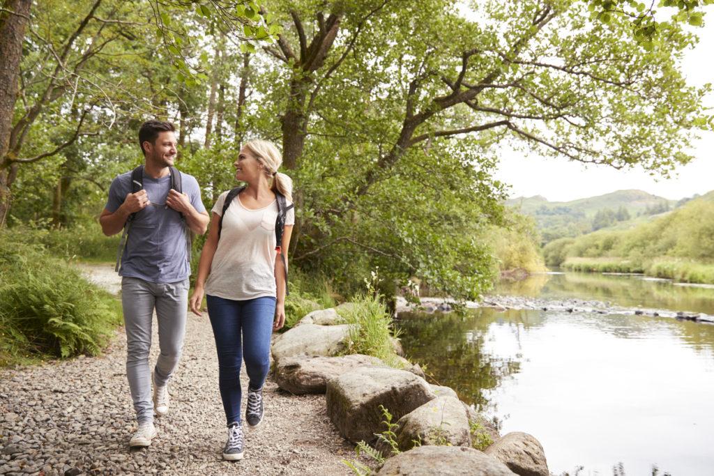 Ken je de voordelen van wandelen voor je lichaam?