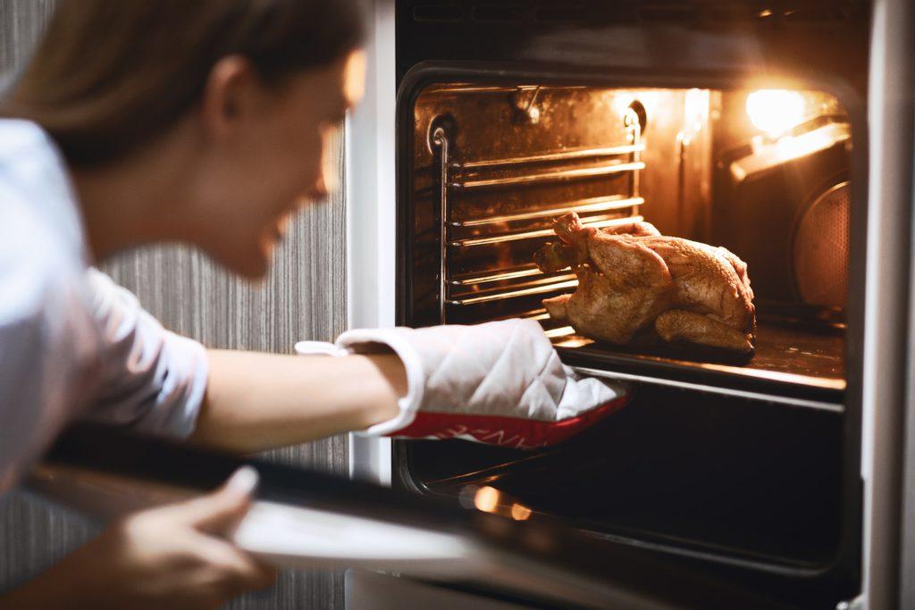 3x gezonde kip in de oven