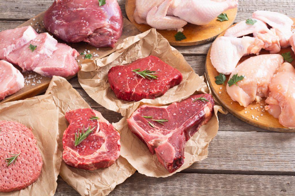 Magere vleessoorten op een rijtje