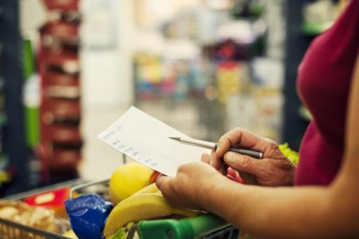 Boodschappenlijst op voorschrift: zin of onzin?