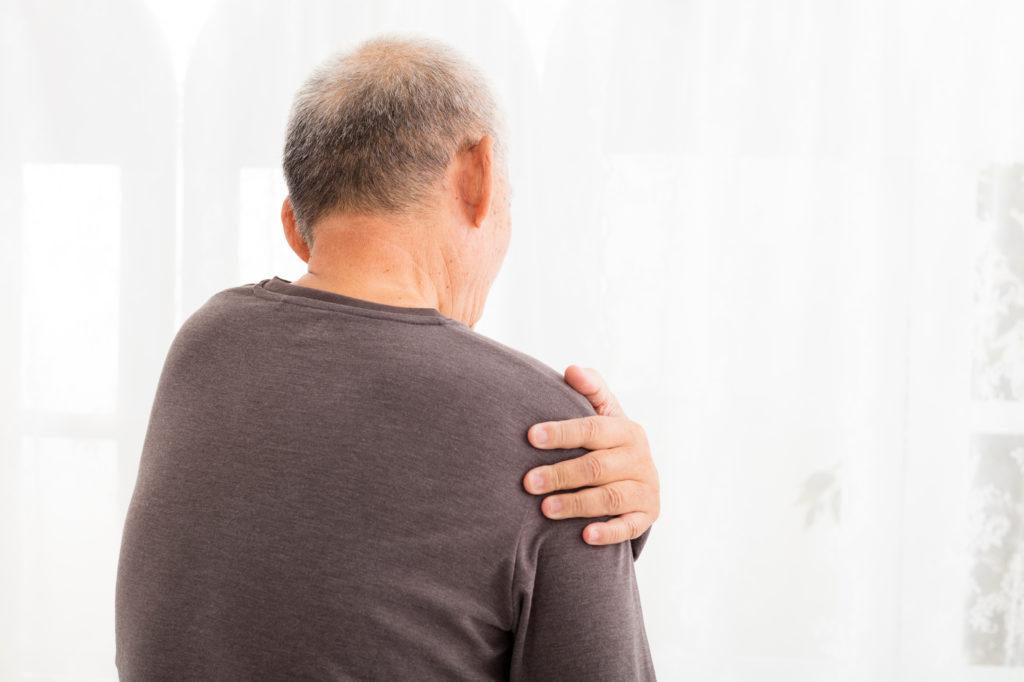 Schouderpijn door artrose: symptomen