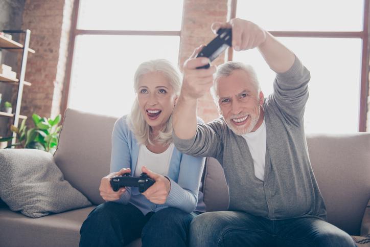 Bewezen: actieve videogames verlichten symptomen van mensen met dementie
