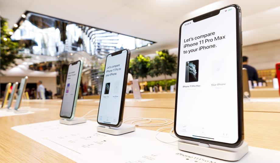 Combien coûtent les smartphones vedettes des grandes marques?