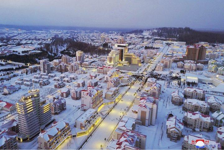 La Corée du Nord vient d'inaugurer en grande pompe la ville nouvelle de Samjiyon