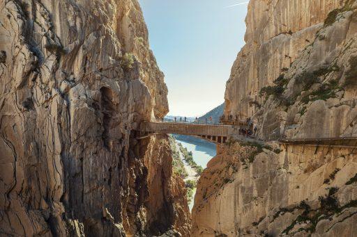 Caminito del Rey: legendarisch wandelpad langs Spaanse rotswanden