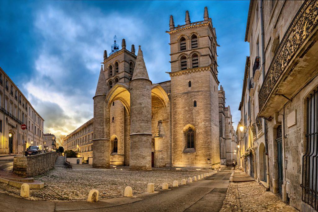De Sint-Pieterskathedraal in Montpellier