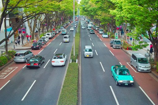 Japan wil diesel-en benzinewagens bannen tegen 2035