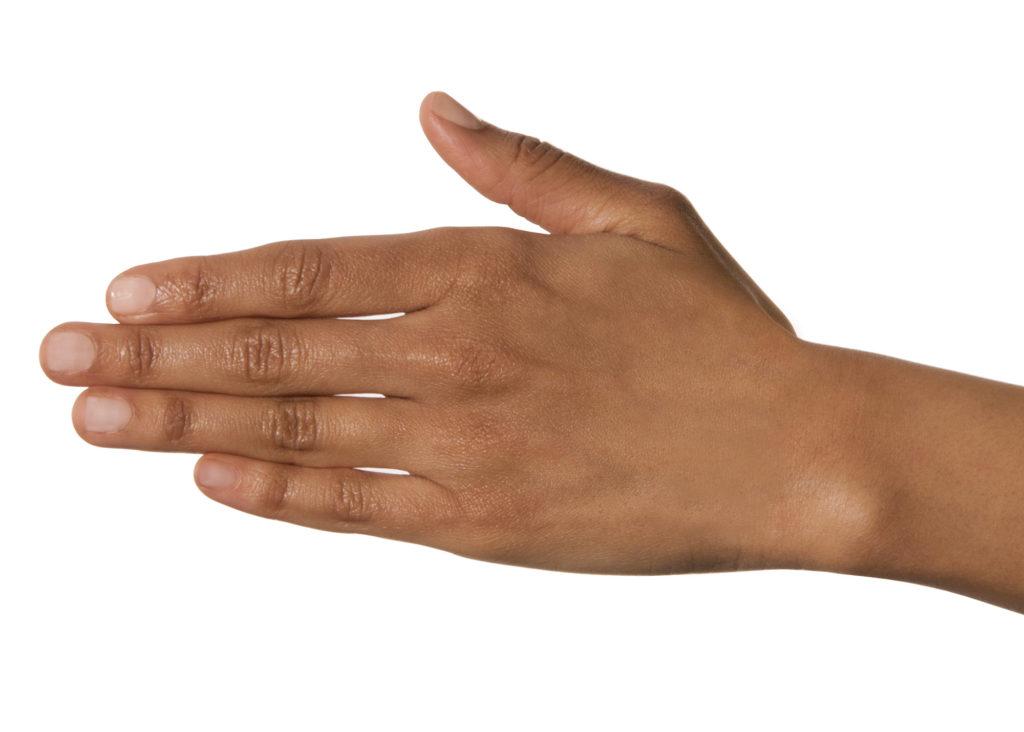Is je ringvinger langer dan je wijsvinger, dan ben je uniek!