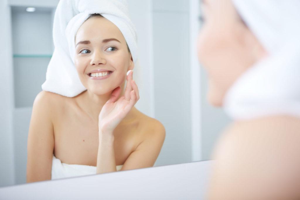 Kalkarm water zorgt voor een gezonde huid