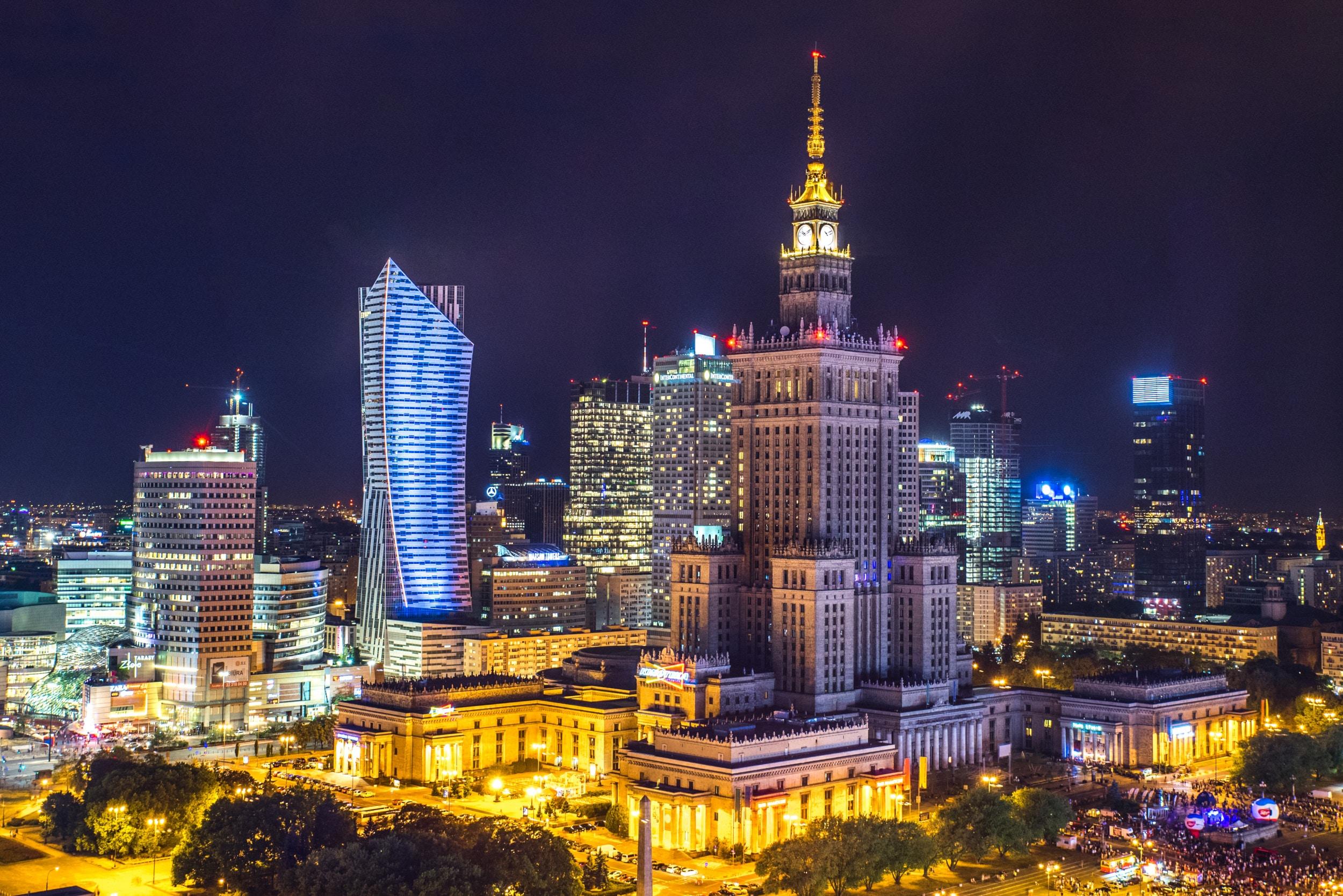 La capitale de la Pologne, Varsovie