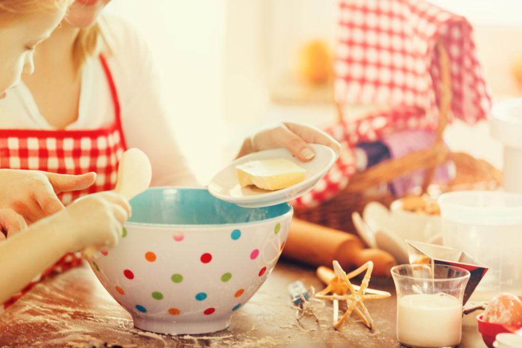 Kleine chef-koks: samen koken met kinderen