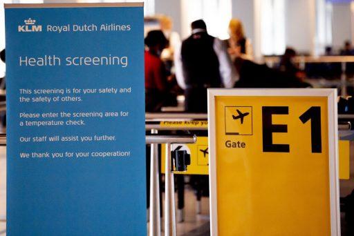 KLM en Delta Air Lines lanceren proef met coronavrije luchtcorridor