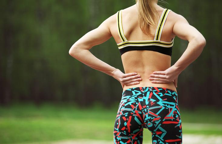 Lage rugpijn door lumbale spondylolisthesis