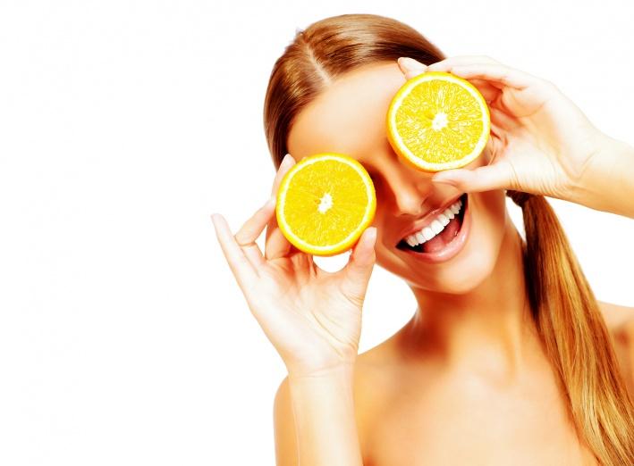 Les vitamines dans les oranges