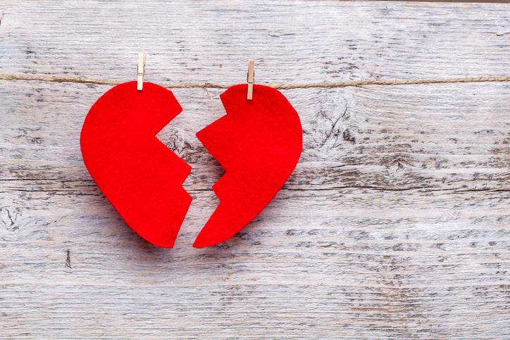 Liefdesverdriet? Zo lang duurt het om een gebroken hart te herstellen