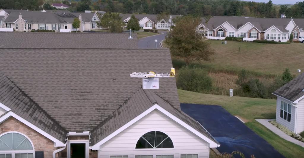 Wing effectue ses premières livraisons par drone commerciales à Chrisianburg, en Virginie (Etats-Unis)