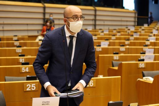 Charles Michel in quarantaine: Europese top uitgesteld